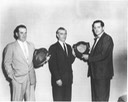 1960- 2 men recieving awards