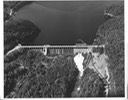 arial- compact picture of rip dam