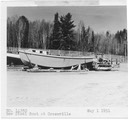 Boat- new steel boat at Greenville 5-1-51