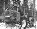 closeup of man in skidder