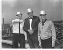 Doctor Bob and 2 others on Steam plant roof